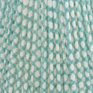 Empire Gathered Lampshade in Turquoise Wicker 065.jpeg