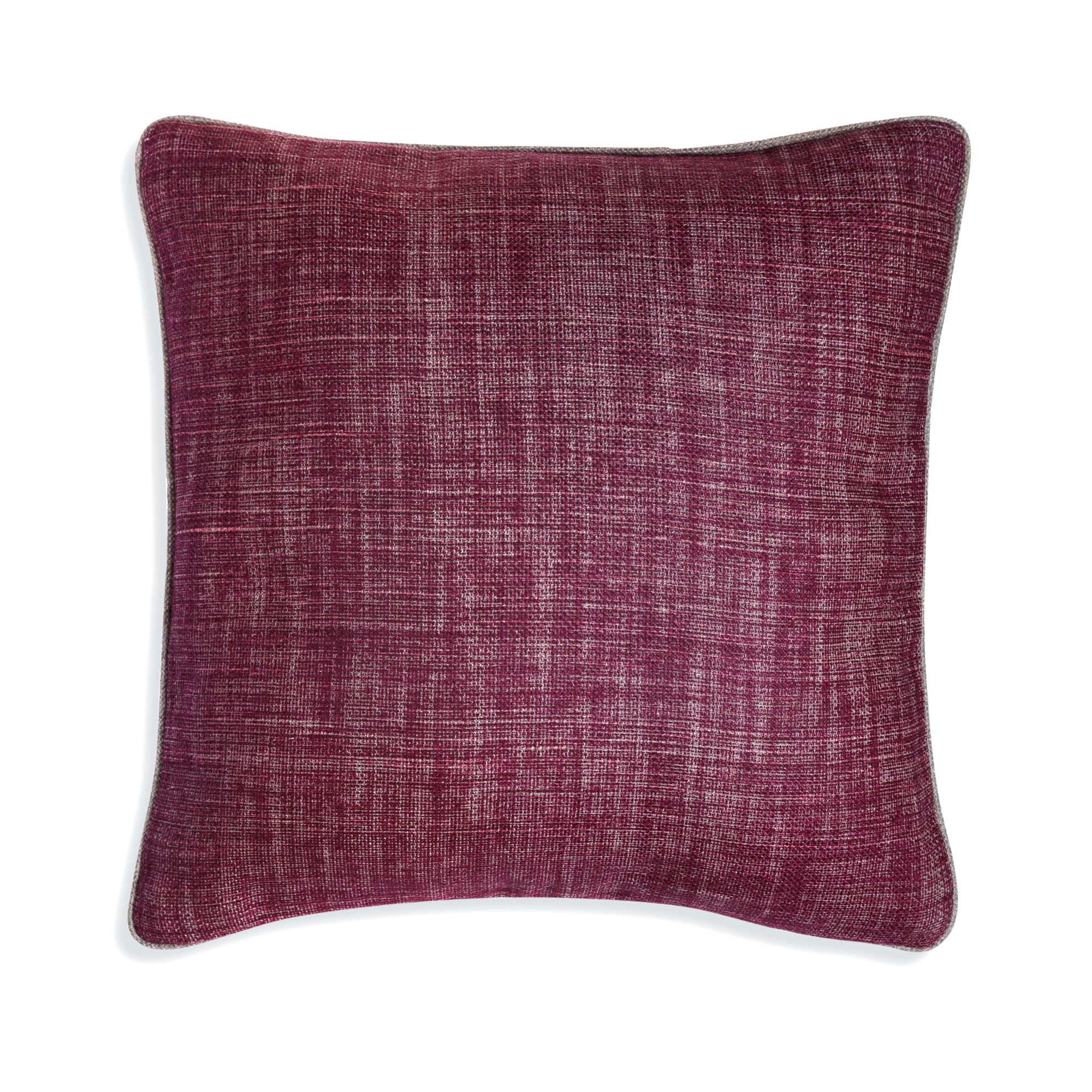 Small Square Cushion in Back to the Fuchsia