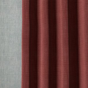 plain-linen-n-003-red-curtain