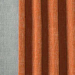 plain-linen-n-121-red-curtain