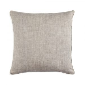 Large Square Cushion in Silver Something
