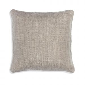 Small Square Cushion in Silver Something