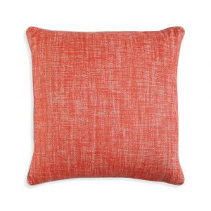 Large Square Cushion in Tickled Pink