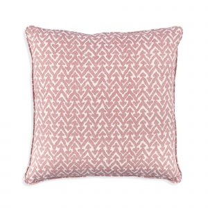 Small Square Cushion in Pink Rabanna