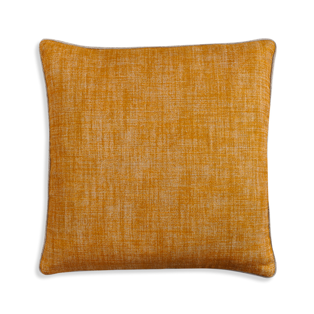 Large Square Cushion in Club Yellow