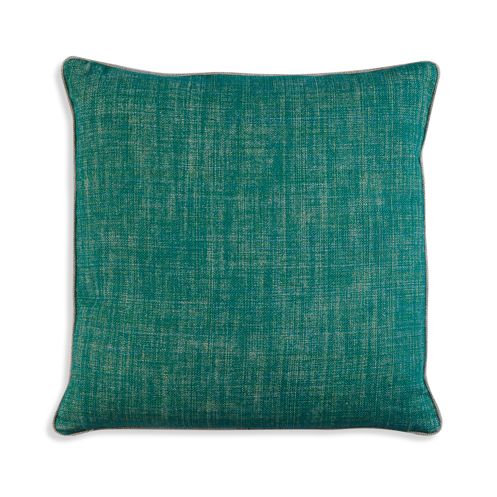 Large Square Cushion in Aventurine